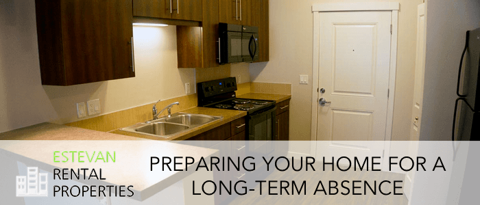 Preparing your home for long term absence
