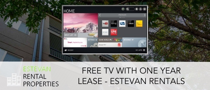 Free TV with 1 year lease