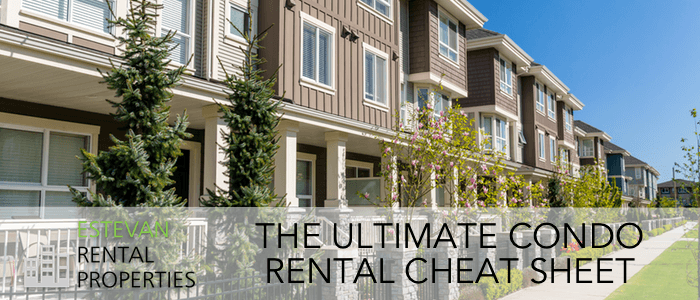 What you must know to rent a Condo in Estevan